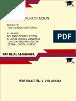 Exposicion perforacion