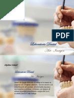 Dossier laboratorio Dental ficticio