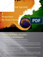Internal Security Issues & Concerns India - POINTERS - Vivek Agrawal