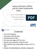 Module 3 Smart Sustainable Cities KPIs Draft H