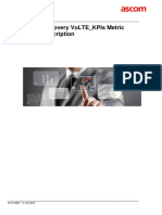 TEMS Discovery VoLTE_KPIs Metric Group Description