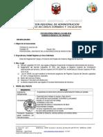 Puesto 004-Asistente en La Sub Direccion de Inspeccion