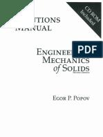 Solucionario Mecánica De Sólidos, 2da Edición – Egor P. Popov.pdf