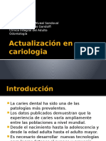 Actualización en Cariologia Ppt
