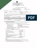 UP Car Sticker Application Form