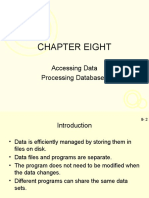 Processing Database