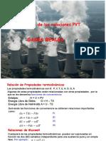 Aplicaciones a Gases Reales