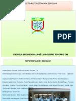 Proyecto Reforestacion Escolar Disenando El Cambio 1