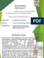 Exposicion de Calidad.innovacion de Procesos