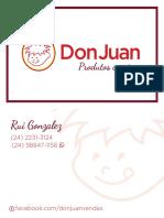 Don Juan - Cartão de Visitas
