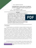 Final Laboratory Report 1