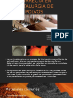 Composición Correcta en Metalurgia de Polvos