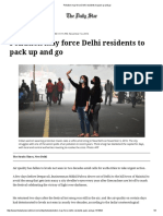Pollution May Force Delhi Residents to Pack Up and Go