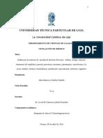 TRABAJO EXTRACLASE N°1-DEFINICIÓN DE MOTIVOS DE CONSULTA DE SISTEMA NERVIOSO CENTRAL