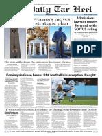 The Daily Tar Heel for Nov. 21, 2016