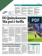 La Provincia Di Como 21-11-2016 - Calcio Lega Pro - Pag.1