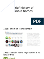 A Brief History of Domain Names