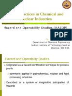 Hazard and Operability Studies ( HAZOP )