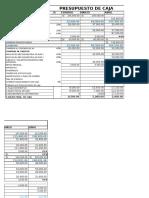 Presupuesto de Caja y Costo de Produccion