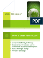 Lect 11 Green Technology