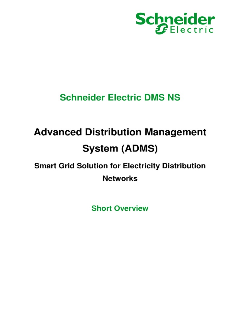 Schneider Electric DMS NS | Smart Grid | Electrical Grid