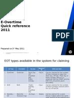 EoT Quick Ref 2011