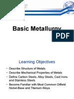 SES 1 Basic Metallurgy