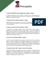 Resumen de Los Tratados Internacionales Belice Guatemala