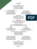 Papuri Medley Lyrics