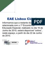Informação da EAE Lisboa Cidade