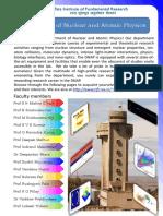 DNAP_Brochure TIFR Mumbai