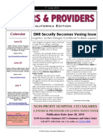 Payers & Providers – Issue of June 17, 2010