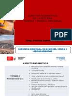 Aspectos Normativos Formalizacion Minera 2016 - Patty