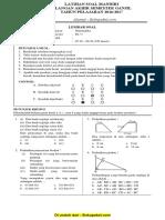 Latihan Soal UAS Matematika Kelas 9 Semester Ganjil