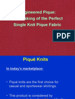Engineered Pique With Samples