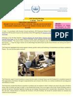 OTP Weekly Briefing - 8-14 June - Issue #41 En
