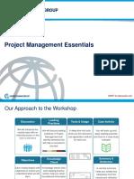Project Management Essentials Materials