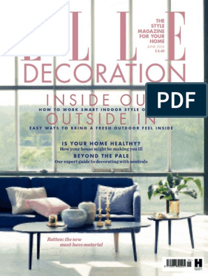 Elle Decoration Uk June 2016 Tile Building Materials