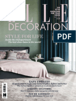 Elle Decoration Uk June 2016 Tile Building Materials