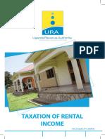 Tax on Rental Income 2015-16