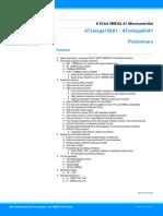 Atmel 8067 8 and 16 Bit Avr Microcontrollers Atxmega64a1 Atxmega128a1 Datasheet