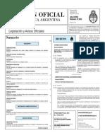 Boletin Oficial 16-06-10 - Primera Seccion