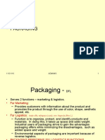 Distribution Channel - Packaging