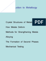 01 M183 Introduction to Metallurgy