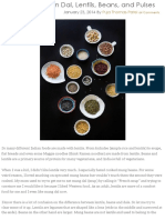 A Guide to Indian Dal, Lentils, Beans, And Pulses - Indiaphile