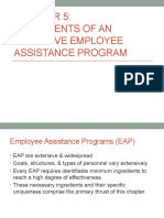 Employee Assistance Program - Chapter 5