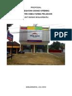Grand Opening KF Pelaihari