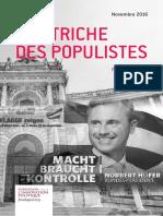 Patrick Moreau - L'Autriche des populistes