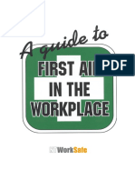 36 -A Guide to First Aid in the Workplace