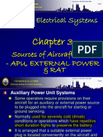 Chapter 3 - APU, Ext Power & RAT